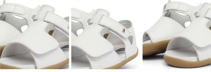 18f36a2919f Детски кожени сандали за прохождане Bobux: Mirror Red цена